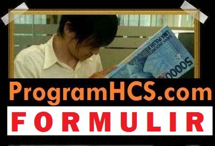 FORMULIR pendaftaran hcs
