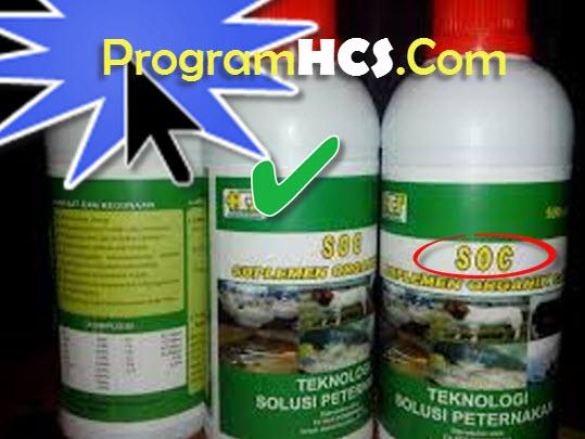 soc hcs - suplemen organik cair pt hcs