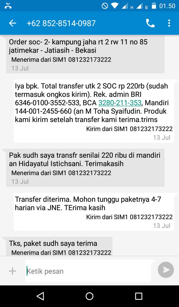 Jual SOC HCS Bekasi