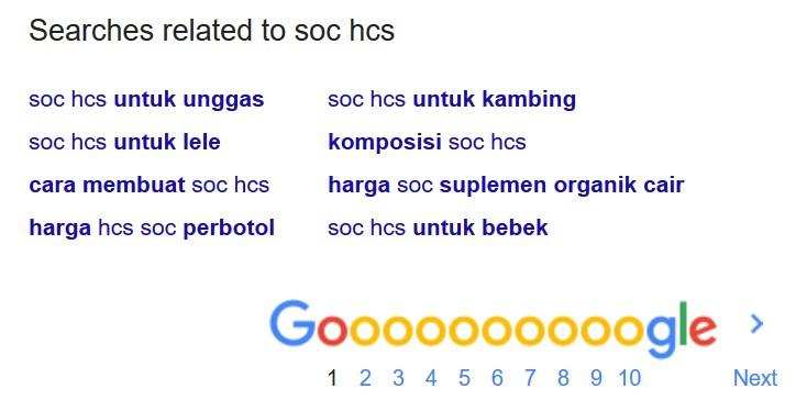 Manfaat SOC bagi Manusia