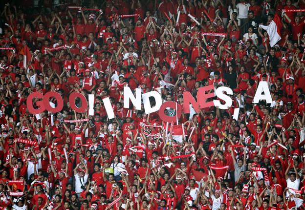 suporter sepakbola indonesia