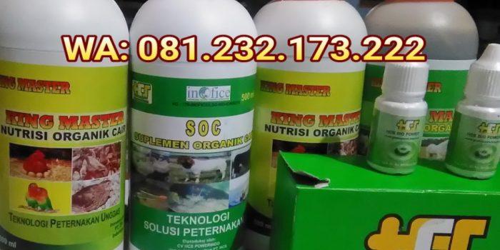 Suplemen Organik Cair untuk ayam broiler