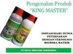 King Master Nutrisi Pengganti AGP