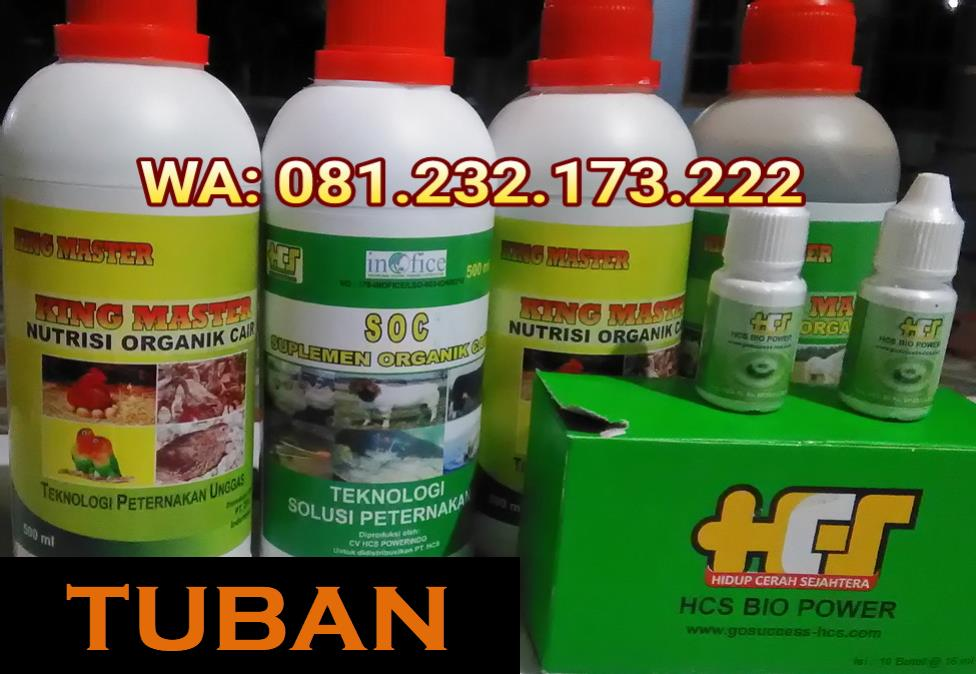 Agen SOC HCS, King Master, Bio Power Siap Kirim TUBAN